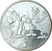 1½ euros Astérix (La potion magique) -  avers