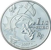 1½ euros Astérix (La potion magique) -  revers