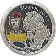 1½ euros Blanche-Neige -  revers