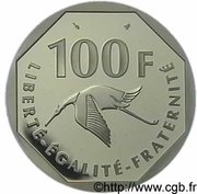 100 francs Georges Guynemer -  revers