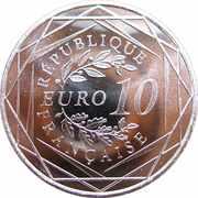 10 euros Hercule -  revers