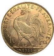 10 francs Coq (Marianne) -  avers