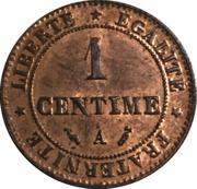1 centime Cérès -  revers