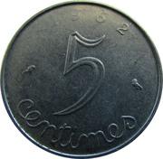 5 centimes Épi -  revers
