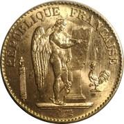 20 francs Génie (IIIè République, Dupré) -  avers