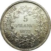 5 francs Hercule (IIIe République) -  avers