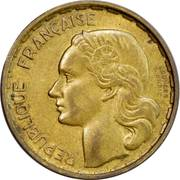 20 francs Guiraud (Georges Guiraud) -  avers