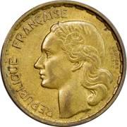 20 francs Guiraud (Georges Guiraud) -  avers