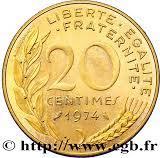 20 centimes Marianne (Piéfort cupro-alu-nickel) -  avers