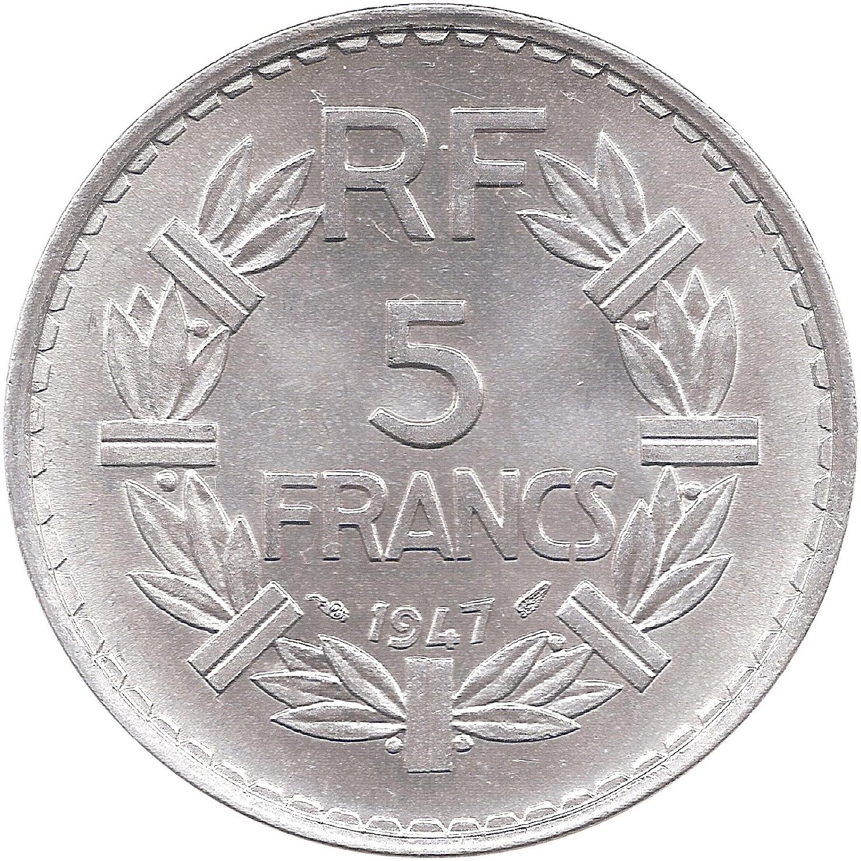FRANCE 5 francs 1950 LAVRILLIER ca