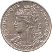 25 centimes Patey (1er type) -  avers