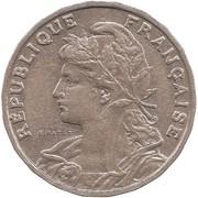 25 centimes Patey (2ème type) -  avers
