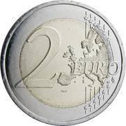 2 euros Simone Veil -  revers