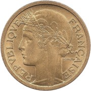 2 francs Morlon (bronze-aluminium) -  avers