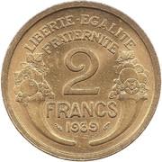 2 francs Morlon (Cupro-alu) -  revers