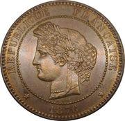 10 centimes Cérès -  avers