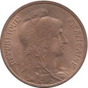5 centimes Daniel-Dupuis -  avers