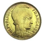 10 francs (Essai en cupro-aluminium de Bazor) -  avers