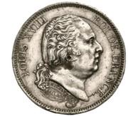 40 francs Louis XVIII (épreuve uniface) -  avers