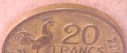 20 francs Guiraud (Georges Guiraud)