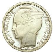 Préparation de la 5 francs Pétain (essai de bazor) – avers