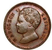 1 centime Napoléon II (essai) – avers