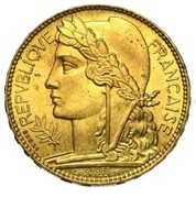 100 francs (Essai de André-Marie Lavrillier en bronze-aluminium) – avers