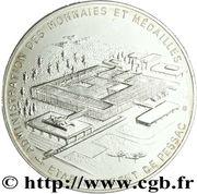 Etablissement de Pessac (médaille au module de 50 francs – revers