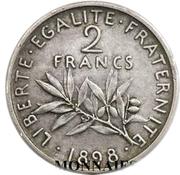 2 francs Semeuse (Pré-série) -  avers
