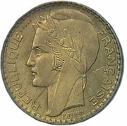100 francs (essai de Turin) – avers