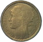 100 francs (Essai de Jean Baptiste Merlen) – avers