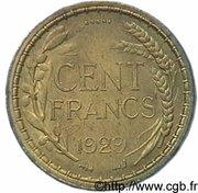 100 francs (Essai de Jean Baptiste Merlen) – revers