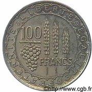 100 francs (Essai de Bazor) – revers