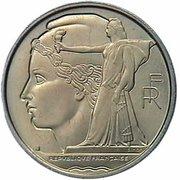 100 francs (Essai de Simon, grand module) – avers