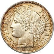 2 francs Cérès (IIe République) -  avers