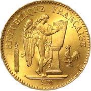20 francs  Génie (IIe république) -  avers