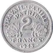 2 francs Francisque (Alumimium-magnésium) -  avers