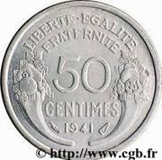 50 centimes Morlon (Aluminium Magnésium, lourde (0.8g)) -  revers