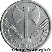 1 franc Francisque (Aluminium-magnésium, lourde (1,6g)) -  avers