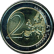 2 euros Union économique et monétaire -  revers
