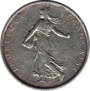 5 francs Semeuse -  avers