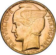 100 francs Bazor – avers