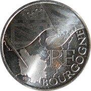 10 euros Bourgogne (1er type) -  avers