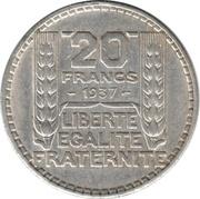 20 francs Turin -  revers
