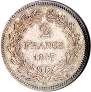 2 francs Louis Philippe -  revers
