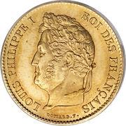 40 Francs - Louis-Philippe 1er -  avers