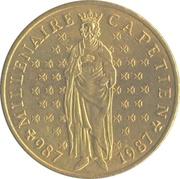 10 francs Millénaire capétien -  avers