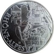 10 euros Rhône-Alpes (2e type) -  avers