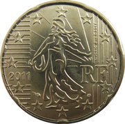 20 cents d'euro (2e carte) -  avers