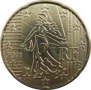 20 cents d'euro (2e carte) -  avers